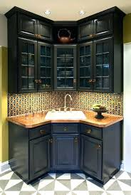 Basement Wet Bar Design Awesome S Corner Wet Bar Cabinets Kitchens Hidden Shelves Kitchen Designs