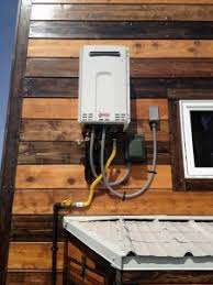 tiny house water heater. Epic Tiny House Rinnai Tankless Water Heater
