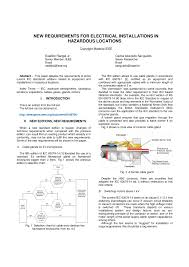 Pdf New Requirements For Electrical Installations In