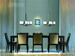 dining table chandelier room height from uk