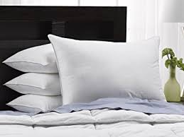 Exquisite Hotel Soft Luxury Plush Down-Alternative Hotel Luxe Pillows -  4-Pack,