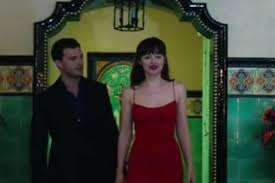fifty shades darker trailer sees christian grey propose to  fifty shades darker trailer sees christian grey propose to anastasia steele a stunning diamond ring