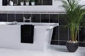 bathroom tiles black and white. Plain Black Plain Tiles Black U0026 White Inside Bathroom And