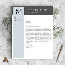 Professional Resume Template The Landon Landed Design Solutions