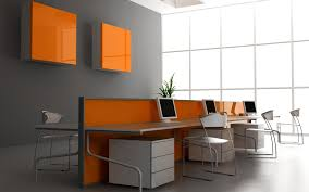 wall color for office. Stylish Grey Wall Color For Modern Office Interior Have Colors