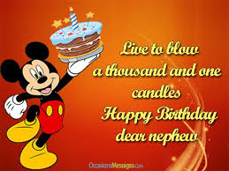 Top 100 Birthday Wishes For Nephew Occasions Messages