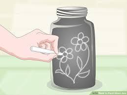 image titled paint glass jars step 20