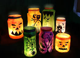 Decorating Jelly Jars DIY Tutorial Jam Jar Halloween Decorations Party Delights Blog 59