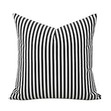 black and white striped furniture. brief simple style black white stripe 100 cotton home decor throw pillow cases sofa cushions and striped furniture