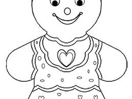 Printable Gingerbread House Coloring Pages For Kids Gingerbread