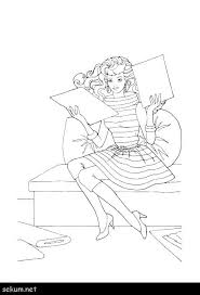 Fashion Coloring Pages To Print Barbie Coloring Pages Fashion