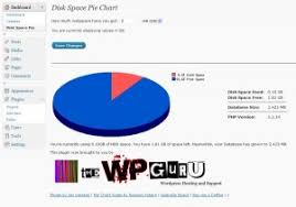 Php Gd Pie Chart Example Disk Space Pie Chart Plugin The Wp Guru