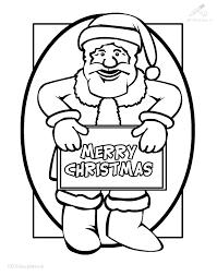 1001 Kleurplaten Kerst Kerstman Lieve Kerstman