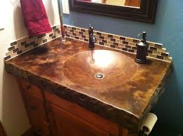 good stained concrete countertops