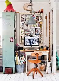 vintage home office design