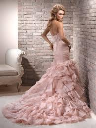Blush Colored Wedding Dress Maggie Sottero
