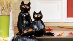 black cat o lanterns