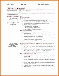Sample Mckinsey Resume 3 4 Mckinsey Resume Leterformat