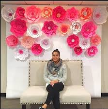 Giant Paper Flower Backdrop Mamas Gone Crafty Top Favorite Giant Paper Flower Backdrops