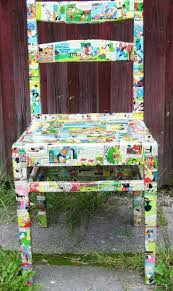 decoupage ideas for furniture. Starting To See Tons Of Possibilities With Decoupaged Furniture. Mismatched Dining Room Chairs? We Decoupage Ideas For Furniture