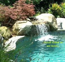 inground pool waterfalls. Inground Pool Waterfalls Custom Swimming Kits
