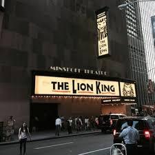 photo de minskoff theatre new york ny États unis king
