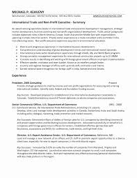 Non Profit Resume Examples Fresh Administrative Assistant Resume