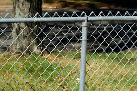 chain link fence. My Picture Shows Why Homeowners Often Wish To Disguise Chain-link Fencing. Chain Link Fence