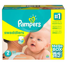 pampers swaddlers size 2 132 count cheapees rakuten pampers swaddlers diapers size 2 162 ct