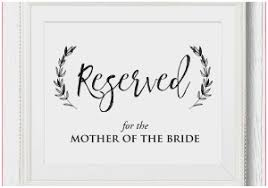 Reserved Signs Templates Reserved Signs For Wedding Tables Best Of Place Card Signs In Babies