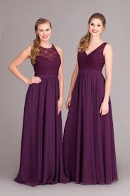 Bridesmaids In Eggplant  Bevy Of Bridesmaids  Pinterest Eggplant Dresses For Weddings