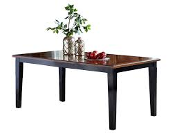 avalon extension table black cherry