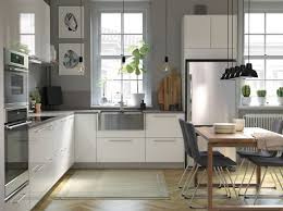 A Modern Bright And Airy Kitchen With Wooden Details Ikea