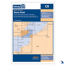 Dover Strait Chart Imray Chart C8 Dover Strait North Foreland To Beach Head