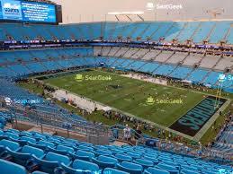 Carolina Panthers Tickets Seating Chart Carolina Panthers Seating Chart Map Seatgeek