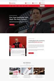 Political Website Templates Leadership Political Html5 Website Template