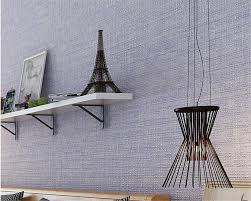 Beibehang Wallpaper roll modern plain linen home decoration q wallpaper  pure color bedroom living room wallpaper papel de parede-in Wallpapers from  Home ...