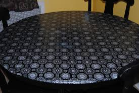 Mod Podge Kitchen Table Kitchen Table Makeover On The Upcycle