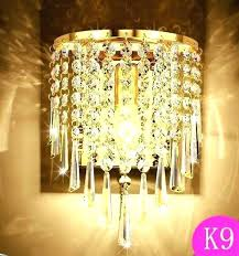 wall mounted chandelier lighting wall mounted chandeliers bubble shade crystal and chrome chandelier home improvement ideas