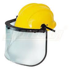 Medium Large Plastic Face Shield Es 51 With Pn 521 Helmet Karam Rs