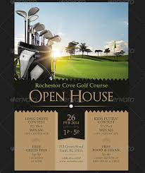 Free House Flyer Template Free Golf Flyer Template Word Free Golf Brochure Templates
