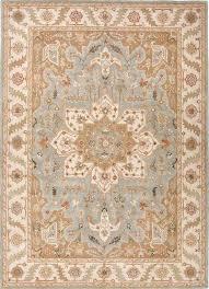classic oriental grey ivory wool area rug province classic oriental grey