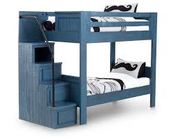 Bunk Bed Bristol Valley Bunk Bed With Stairs Furniture Row