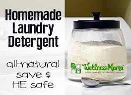 homemade laundry detergent he safe natural