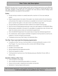 How To Write Job Profile In Resume Cover Letter How To Write A Good Job Description For Resume Simple 23