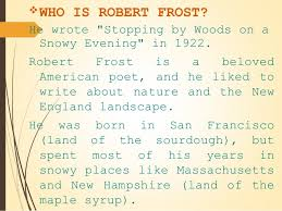 robert frost stopping by woods on a snowy evening 3