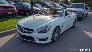 Spotted! Mercedes-Benz SL 63 AMG Roadster