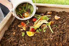 garden compost. turning landscaping waste into compost garden p