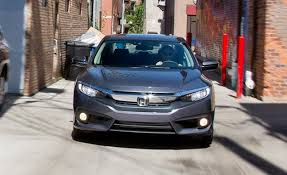 2016 honda civic sedan 1 5l turbo test review car and driver < src media caranddriver com images media 51 2016 honda civic touring sedan inline4 photo 662822 s original jpg alt >