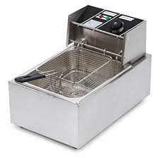 kenley 2500w countertop electric stainless steel commercial deep
